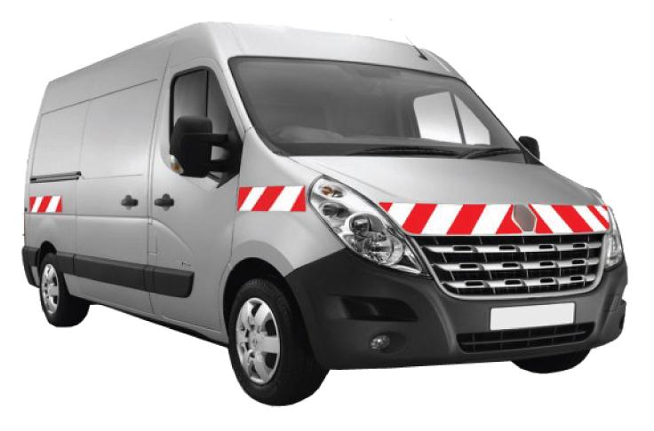 système de balisage sur véhicule utilitaire